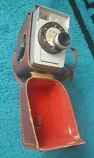 VINTAGE Kodak Brownie Movie 8 CAMERA WITH CASE f/2.7