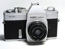 Porst Reflex C-TL SLR camera with Industar-50-2 1:3,5 f=50  M42 lens.