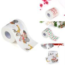 Renova White Print 2 Ply Christmas Xmas Toilet Tissue Paper