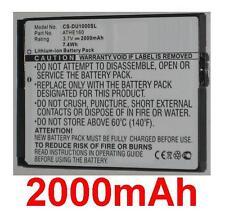 Batterie 2000mAh Pour T-MOBILE MDA Ameo type 35H00081-00M ATHE160
