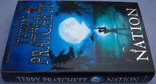 TERRY PRATCHETT Nation HB DW FIRST 1/1 Discworld Novel Fantasy