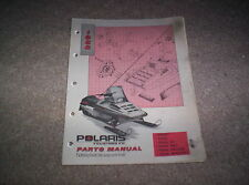 Vintage Snowmobile Polaris 1988 Sport Trail ES SKS Deluxe Special Parts Manual