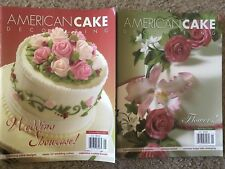 American Cake Decorating Magazine Back Issues (Feb/March and April/May 2008)