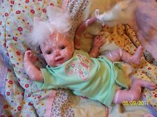 REBORN BABY Girl MYTHICAL PINK ALIEN ARTIST DOLL OOAK DEITY AVATAR Fairy NEWBORN