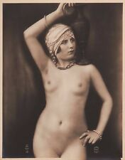 Studio JULIAN MANDEL Vtg 1920s Silver Gelatin Print Nude ED A.N. Paris 13