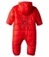 Spyder Infant Baby Boys Girls Yummy Print Bunting NWT Size 6M 12M 18M Red