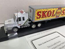 Matchbox Skol Lager Scania Tractor Trailer 1:100 Scale NIB w/COA