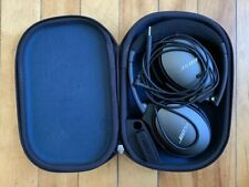 Bose QC-25 QuietComfort 25 QC25 Headband Headphones w/ Inline Mic IOS - Black