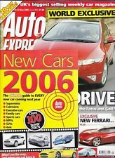 Auto Express Issue 884 November 2005 - New Cars 2006 Guide
