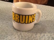 NHL BOSTON BRUINS MINI MUG  GREAT CONDITION