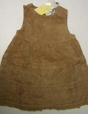 NWT Girls 9-12 m Gymboree DAISY THE COW 2pc LEATHER tan jumper dress set vintage