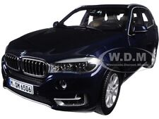 BMW X5 (F15) 5.0i xDRIVE IMPERIAL BLUE 1/18 DIECAST CAR MODEL BY PARAGON 97071
