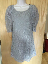 H&M Lace Mini Dresses Round Neck