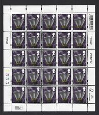 2017 GB QEII WALES COUNTRY DEFINITIVE COMMEMORATIVE STAMP SHEET  £1.45 CYL C1