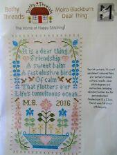 "Cross stitch Kit  Moira Blackburn "" Dear Thing "" New by Bothy Threads"