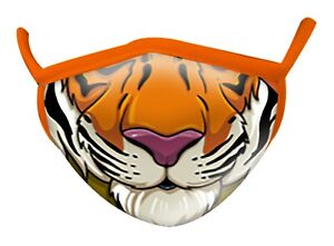 Face Mask Adults Tiger Wild Smiles By Wild Republic