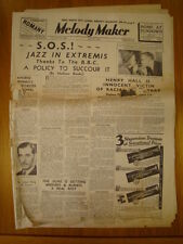 MELODY MAKER 1939 APR 15 MAURICE WINNICK HENRY HALL