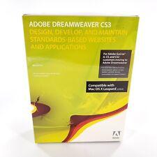 Adobe Dreamweaver CS3 (Retail) (1 User) Full Version for Mac 38044739 New Sealed