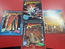 TSR Indiana Jones Adventures of Indiana Jones, 3 books and Ref screen