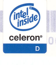 Intel Celeron D Design 2 Case Sticker Aufkleber Badge