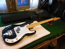 Cort P Bass electric  guitar Nice player  Very Good cond. W gig bag  Black