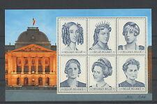 België blok nr. 89 xx -  6 Belgische koninginnen  -  postfris