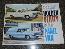 1965 HD HOLDEN UTE AND VAN SALES BROCHURE  100% GUARANTEE