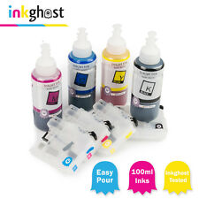 Refillable ink Cartridges & Inks Compatible with LC133 MFC-J6520 J6720 J6920