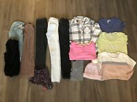 Women Junior Mixed Fall/Winter Clothes Lot 14 Items Size XS Small