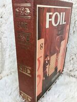 Vintage FOIL 3M Board Game of Words and Wits Bookshelf Edition Complete 1968
