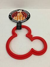 Disney Parks Mickey Mouse Pancake Red Ring Silicone New with Tags