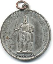 CARLO MAGNO AQUISGRANA 1846  RARA MEDAGLIA CELEBRATIVA