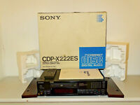 Sony CDP-X222ES High-End CD-Player mit Holzwangen, OVP&NEU, 2J. Garantie