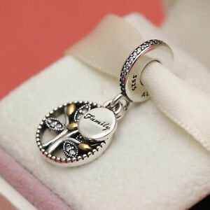 Ex Display PANDORA Sterling Silver Charm - FAMILY HERITAGE 791728 S925 ALE