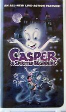 Casper: A Spirited Beginning (VHS, 1997) Steve Guttenberg, Lori Loughlin