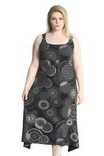 Geometric Viscose Dresses for Women's Maxi Dresses