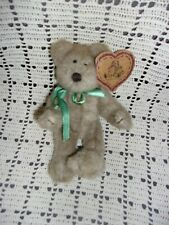 """Heartfelt Collectibles Jointed Teddy Bear """" Snap """" With Tags"""