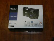 NEW in Open Box - Sony Cyber-Shot DSC-H70 Camera 16.1 MP - BLACK - 027242808690