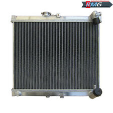 3ROW ALUMINUM Radiator For 1986-1988 Mazda RX7 RX-7 S4 FC3S 1987