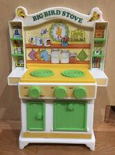 Vintage 1982 Playskool Sesame Street Big Bird Kitchen Stove In EC!!