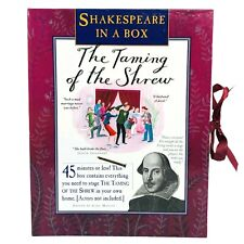 Shakespeare In A Box The Taming Of The Shrew Play Theater At Home Role Playing