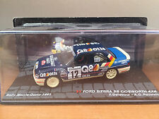 """DIE CAST """" FORD SIERRA RS COSWORTH 4X4 RMC 1991 """" PASSIONE RALLY SCALA 1/43"""