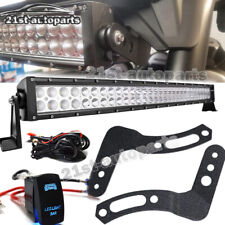 "For 2014-18 Honda Pioneer 700 Roll Bar Cage 30/"" 32 inch 180W LED Light Bars"
