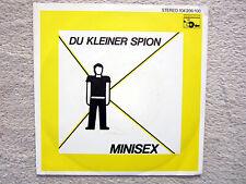 Single / MINISEX / SCHALLTER / AUSTRIA / RARITÄT /  DE PRESS / 1982 /