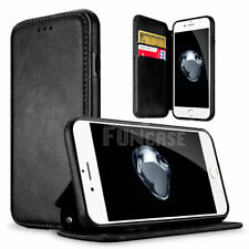 Leather Flip Wallet Card Holder Case Cover For Apple iPhone 8 7 5 5S SE