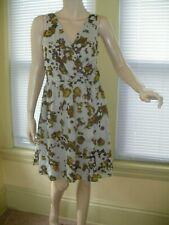 Willow & Clay Faux wrap Fit & Flare Dress Women's Sz M Career Church etc. EUC
