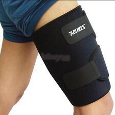 THIGH SLEEVE LEG COMPRESSION HAMSTRING GROIN SUPPORT BRACE WRAP BANDAGE Fine