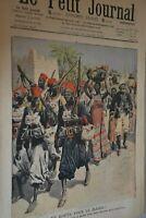 En route pour le Maroc  / Le petit journal sup illustré N° 905/ 22 mars 1908