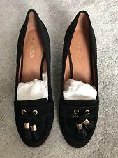 Aldo Shoes Black Suede Size 5.5 (38.5) RRP £70