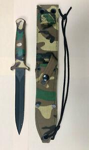 RARE GERBER GUARDIAN II L6 TOOL STEEL Camo Camouflage Knife Dagger RARE 1980's